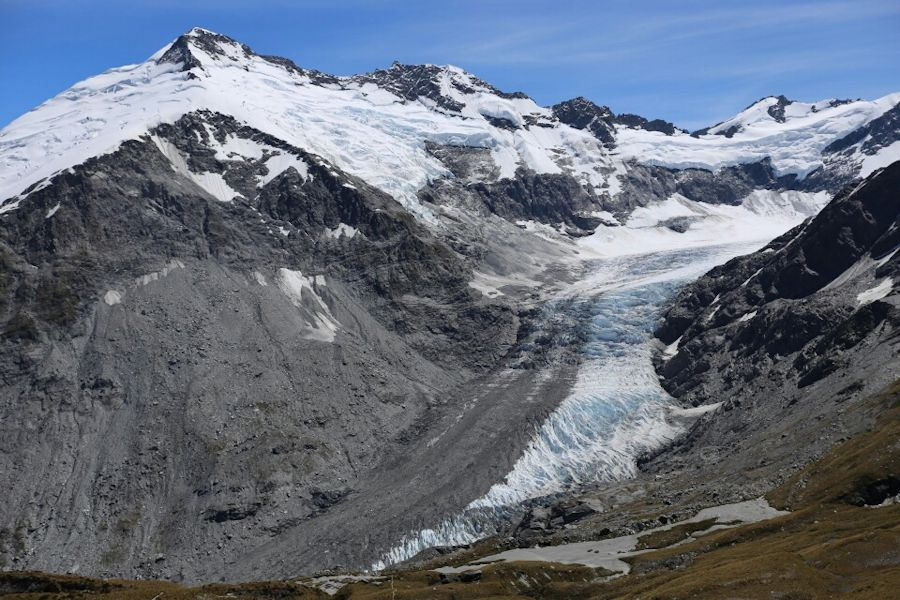 Dart Glacier, Cascade Saddle, Rees And Dart Track