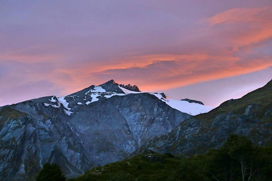 Sunrise, Dart Hut, Rees And Dart Track